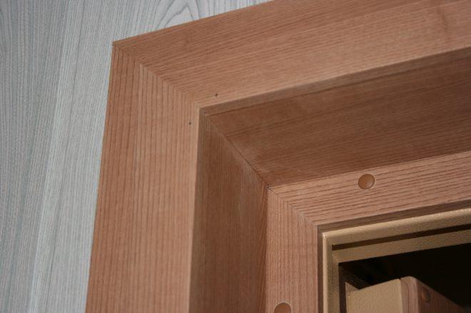Дверные откосы из панелей МДФ