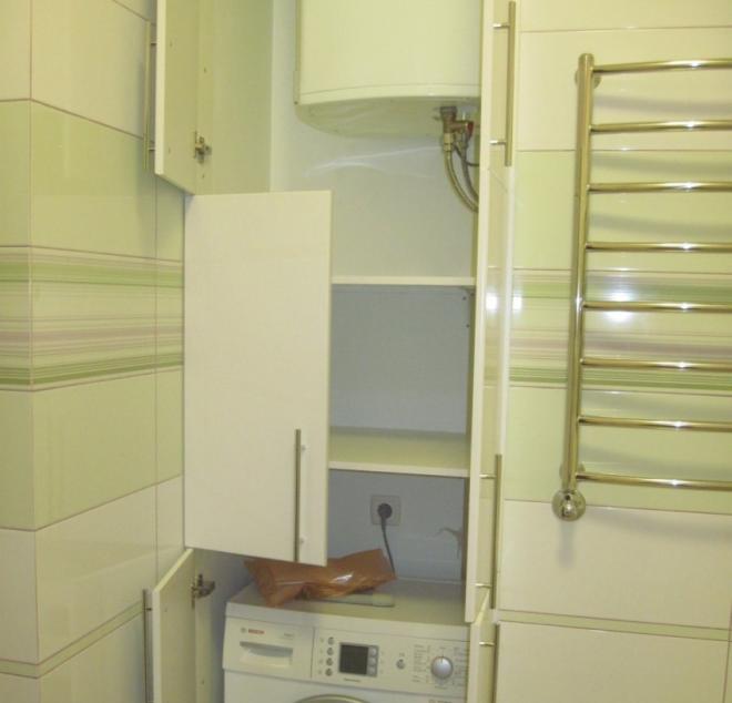 шкаф для водонагревателя