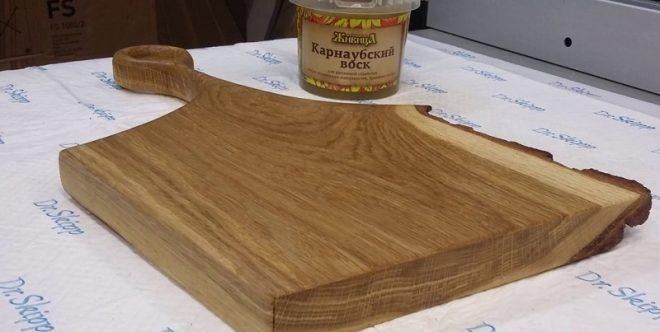 Разделочная доска из дерева