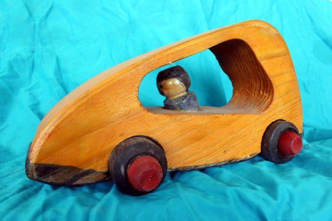 Деревянный мобиль для ребёнка