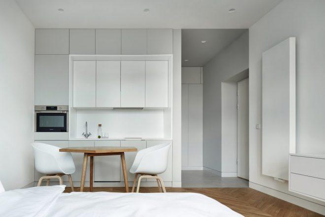 дизайн квартиры эконом класса в стиле минимализм