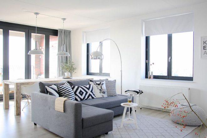 Светлая комната в квартире