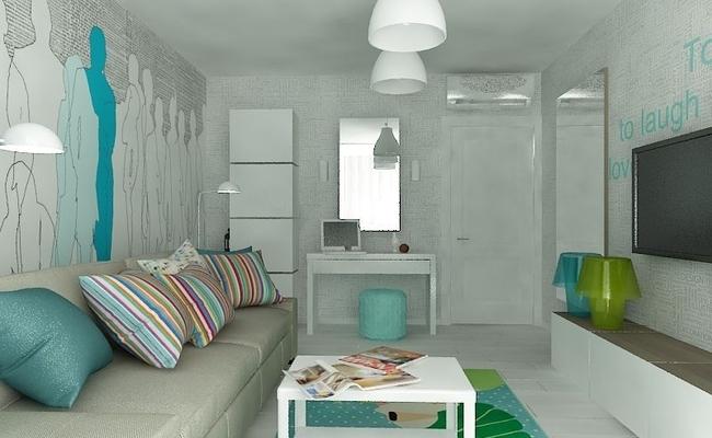 Креативный дизайн комнаты
