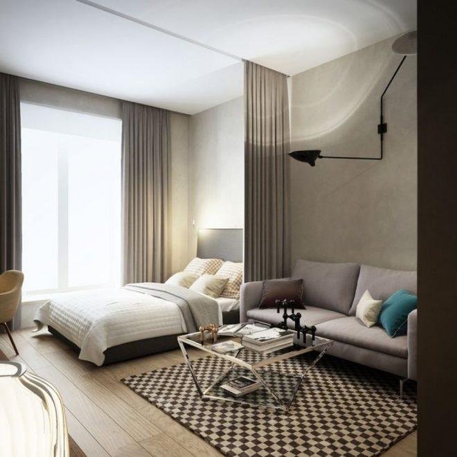 Уютная квартира-студия