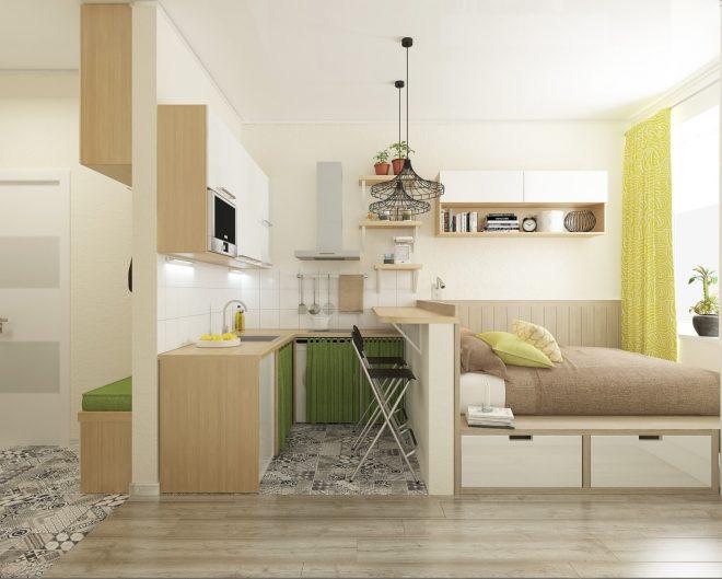 Кухня и зона-отдыха