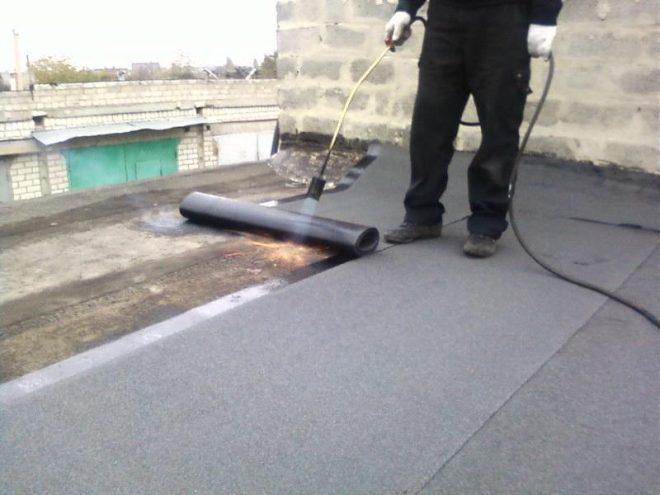 Мягкая крыша гаража