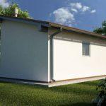 Стандартная односкатная крыша