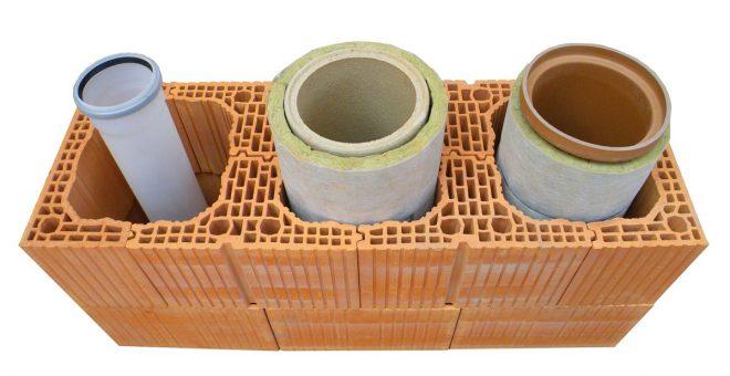 Керамический дымоход для газового котла