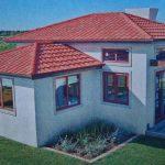 Комбинированная вальмовая крыша