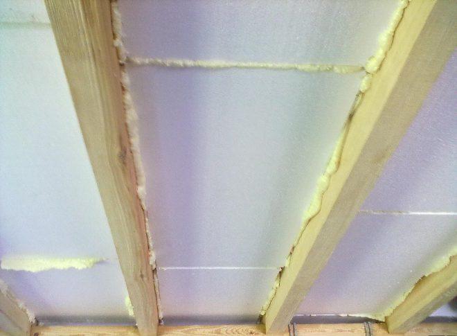 Утепление крыши дома пеноплексом