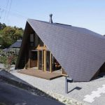 Дом «Оригами» в Японии