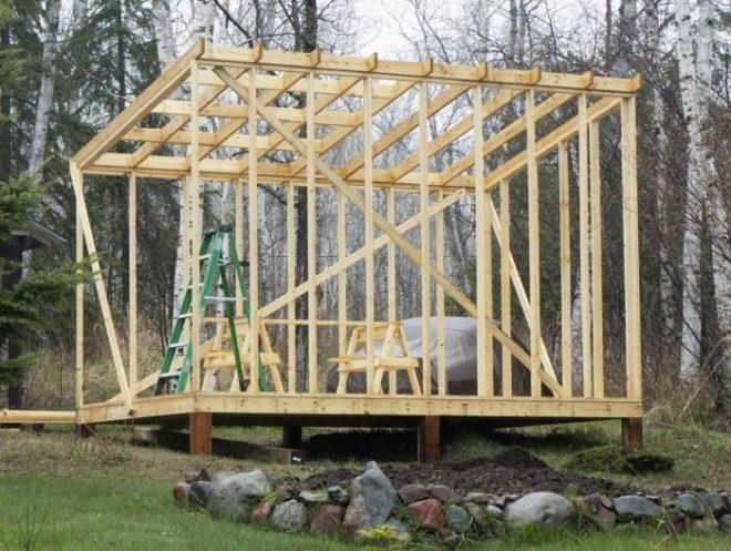 Процесс изготовления обрешётки крыши