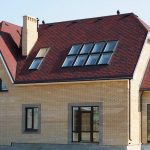 Вальмовая крыша с мансардой