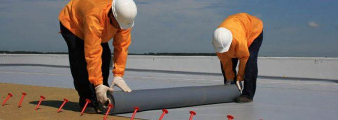 Монтаж гидроизоляции на основе ПВХ