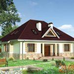 Вальмовая крыша с «кукушкой»