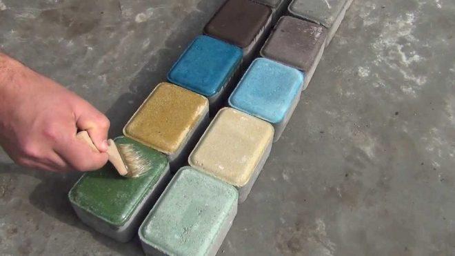 Краска для тротуарной плитки