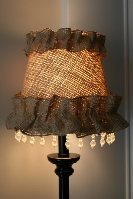 Декор из ткани
