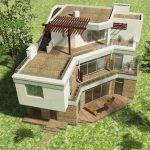 Плоская крыша в проекте
