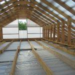 Стропила для крыши-конверта