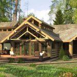 Сложная многощипцовая крыша