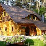 Дом с мансардой и баней