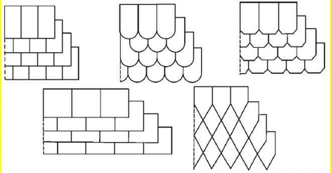 Схема английской укладки