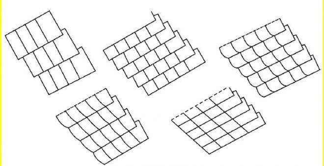Схема немецкой укладки