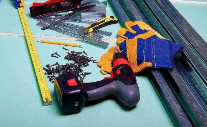 Инструменты для укладки обрешётки