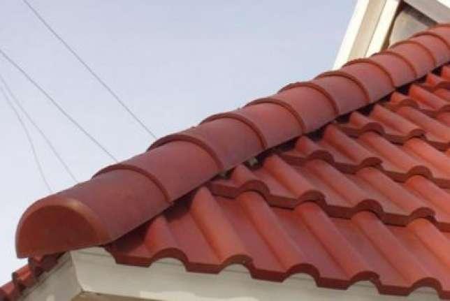 Готовая крыша из полимерпесчаной черепицы