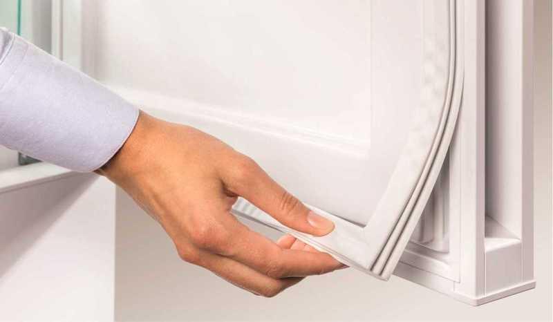 Отошла резинка на двери холодильника что делать