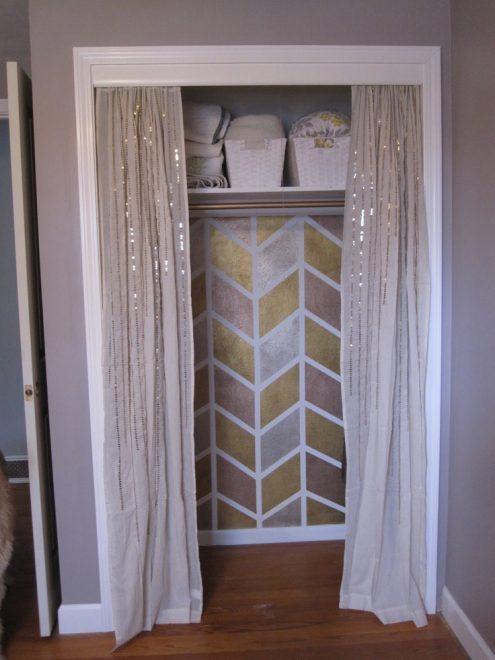 Занавески вместо двери