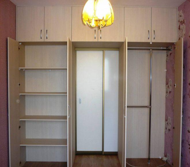 встроенный шкаф в однокомнатной хрущевке