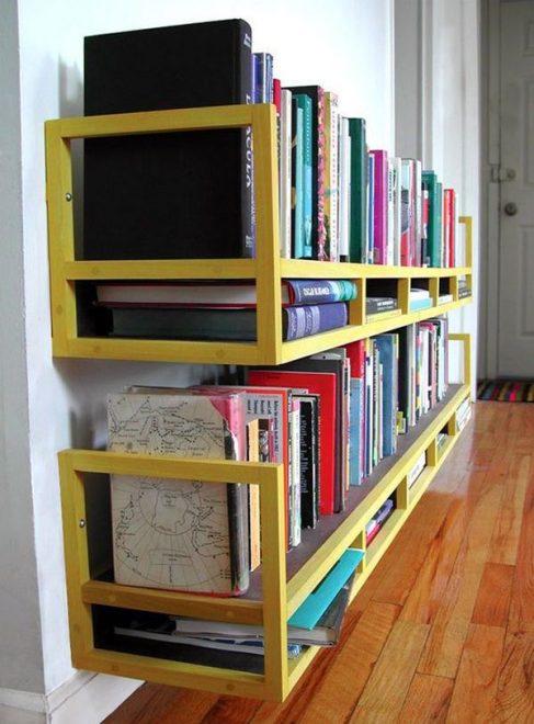 Хранение книг на полках