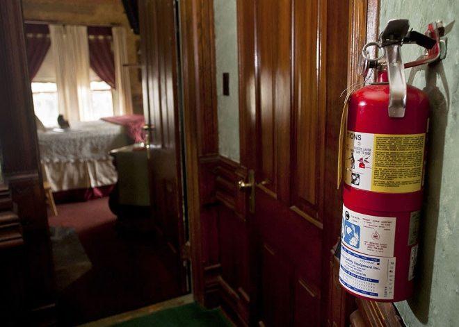 Огнетушитель дома