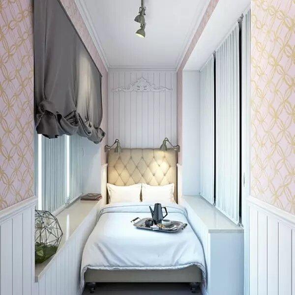 Мини-спальня в классическом стиле