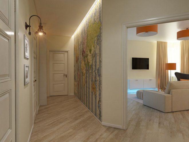 дизайн нестандартной квартиры