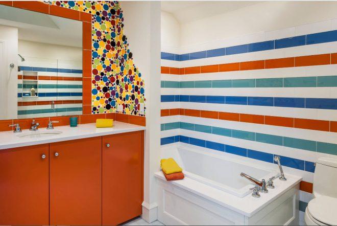 как положить красиво плитку в ванной