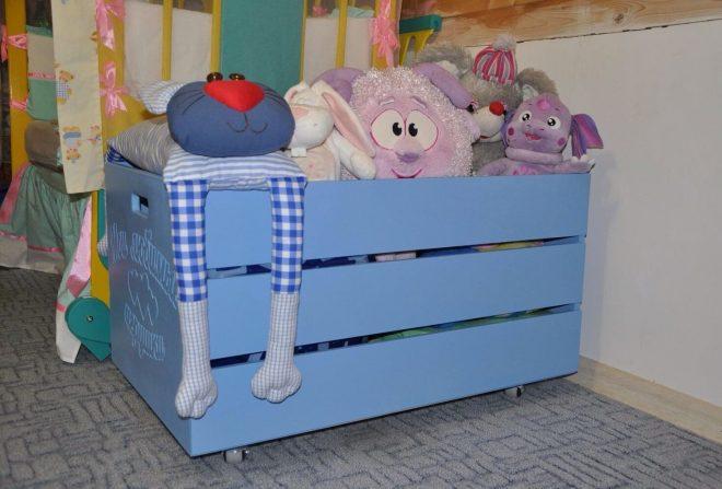 Ящик для детских игрушек