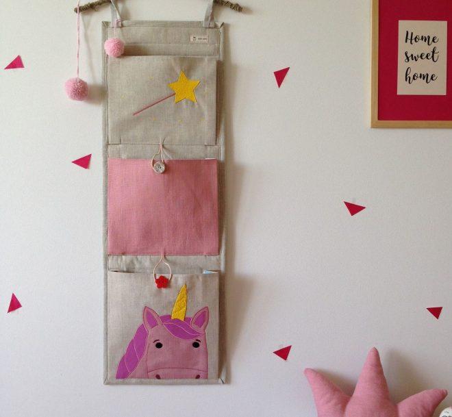 Тканевые карманы для детских игрушек