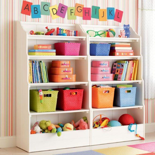 Стеллаж для детской комнаты