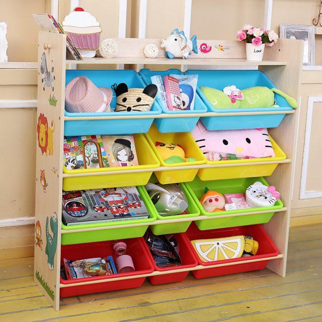 Стеллаж для детских игрушек