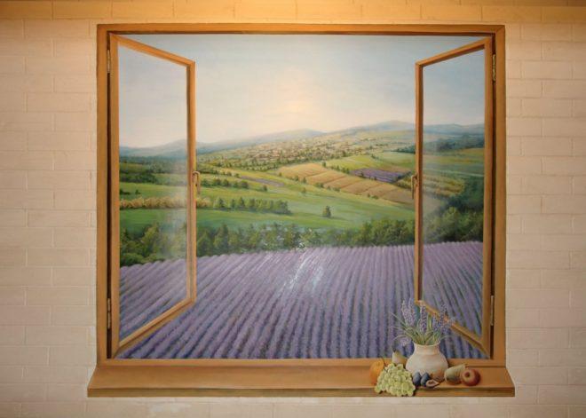 какой рисунок обоев увеличивает пространство комнаты