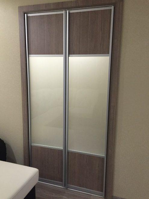 Кладовка с раздвижными дверьми