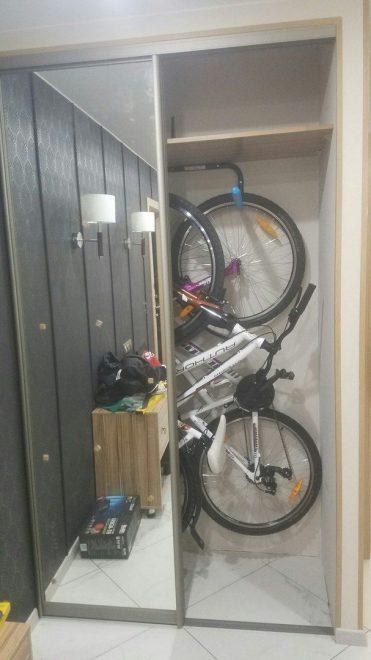 Хранение велосипеда в кладовке
