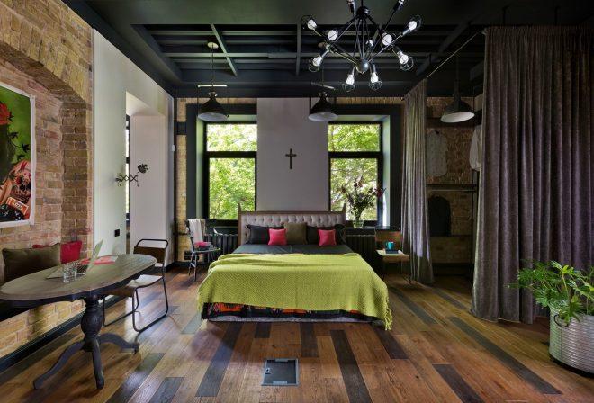 «Большой» стиль в маленькой комнате