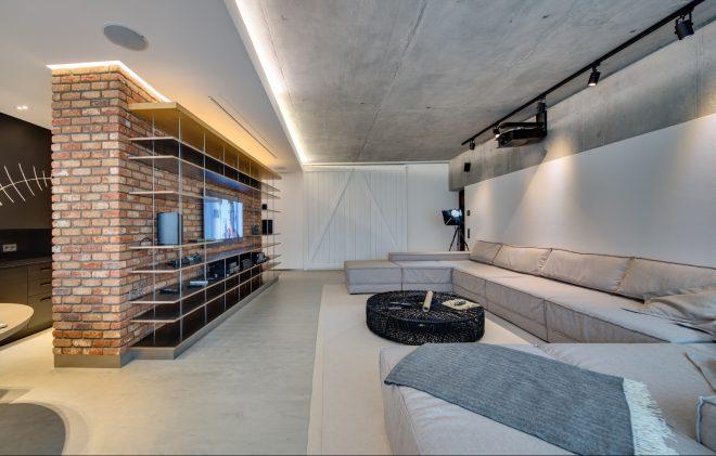 Низкий потолок в лофте