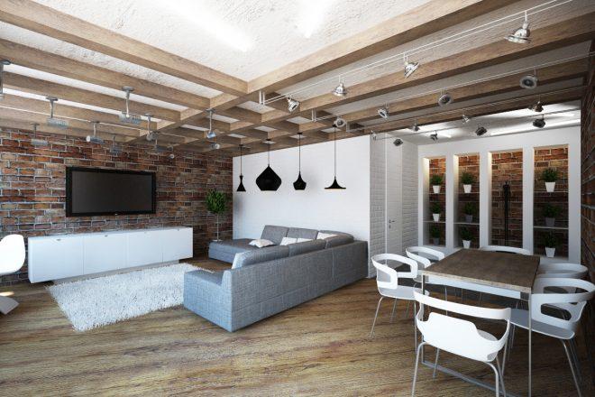 Низкий потолок