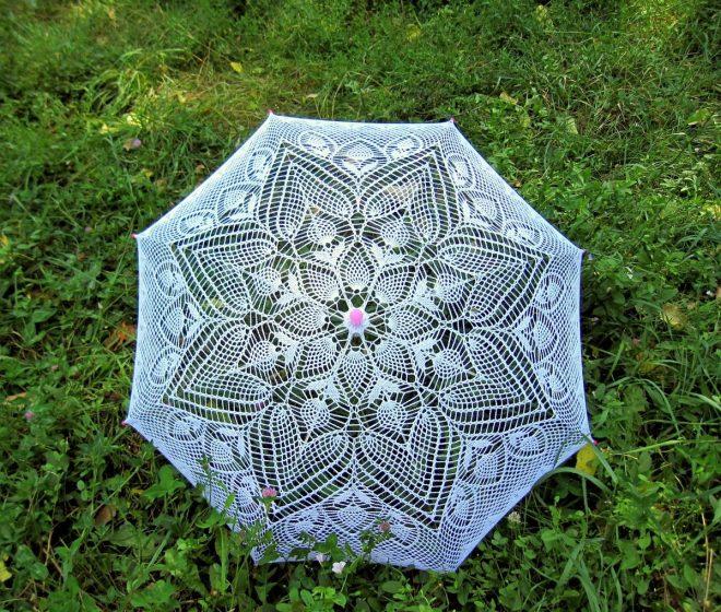 поделки из старого зонта