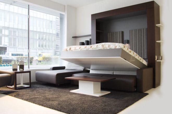 Мебель, которая экономит пространство