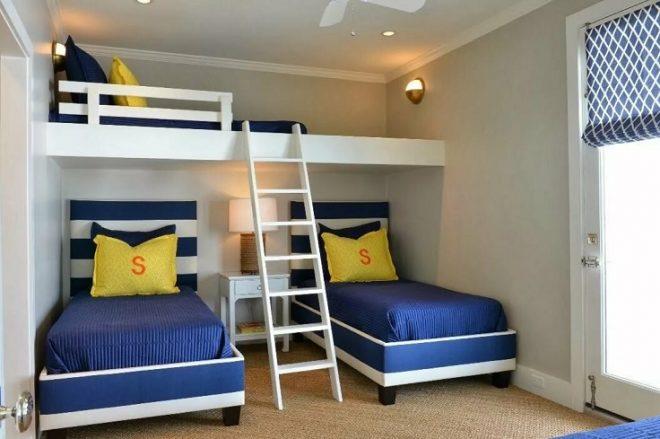Комната для трёх человек